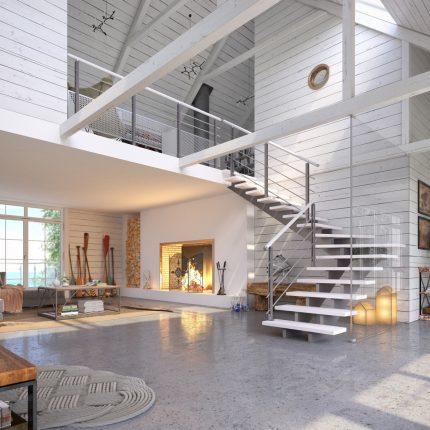 Escalier Plasse Hampton