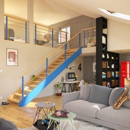 Escalier Plasse Habitat Jeune